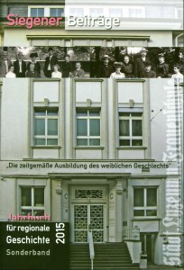 Cover Sonderband Siegener Beiträge 2015
